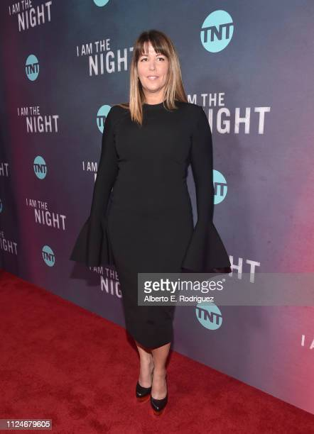 Patty Jenkins attends the premiere of TNT's I Am The Night at Harmony Gold on January 24 2019 in Los Angeles California