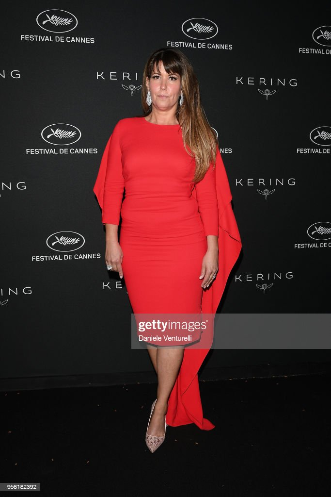 Patty Jenkins attends the Women in Motion Awards Dinner, presented by Kering and the 71th Cannes Film Festival, at Place de la Castre on May 13, 2018 in Cannes, France.