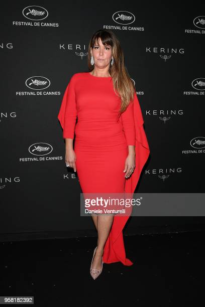 Patty Jenkins attends the Women in Motion Awards Dinner presented by Kering and the 71th Cannes Film Festival at Place de la Castre on May 13 2018 in...