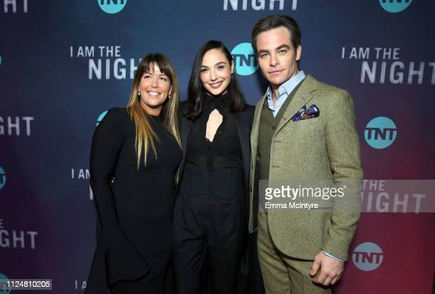 Patty Jenkins Gal Gadot and Chris Pine attend the I Am The Night Los Angeles Premiere on January 24 2019 in Los Angeles California 484213