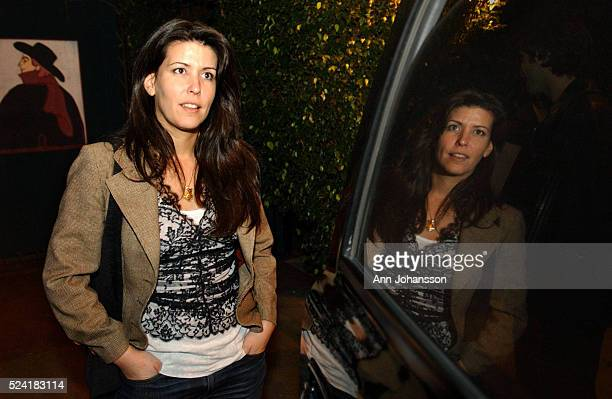 Patty Jenkins screenwriter and director of the movie Monster stands outside the restaurant Cafe des Artistes Monster tells the story of highway...