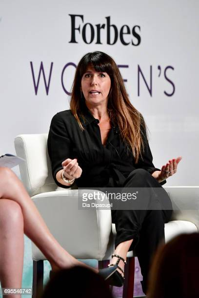 Patty Jenkins speaks onstage during the 2017 Forbes Women's Summit at Spring Studios on June 13 2017 in New York City
