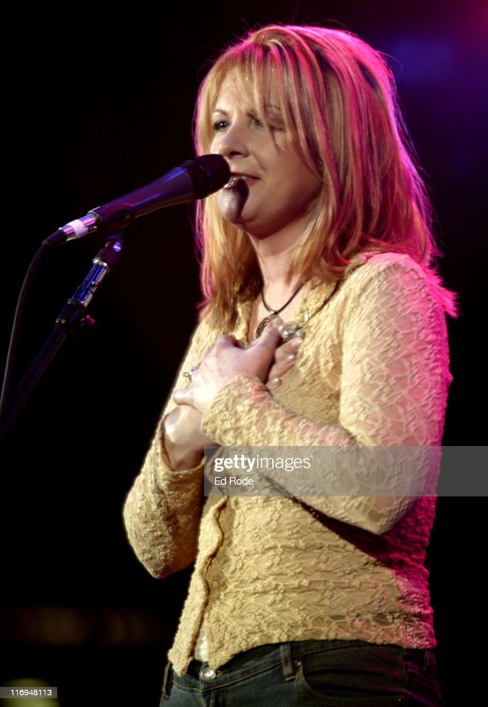 Patty Loveless during Patty Loveless Performs at Fan Fair 2003 - Nashville at The Coliseum in Nashville, Tennessee, United States.