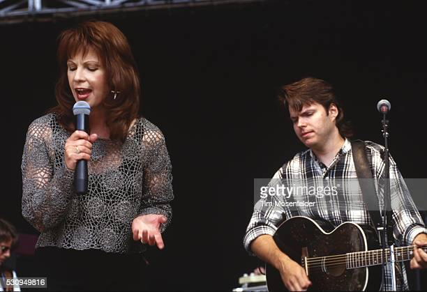 Patty Loveless performs at Shoreline Amphitheatre on May 22 1994 in Mountain View California