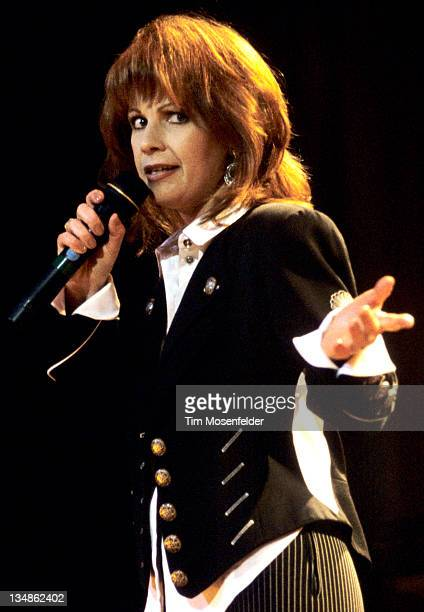 Patty Loveless performs at The Oakland Coliseum Arena on January 27 1996 in Oakland California