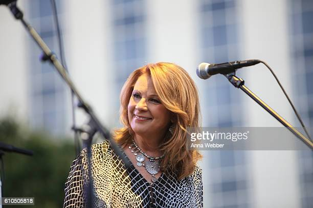 Patty Loveless performs during The Country Music Hall of Fame and Museum and the Country Music Association Celebrate Forever Country LIVE presented...