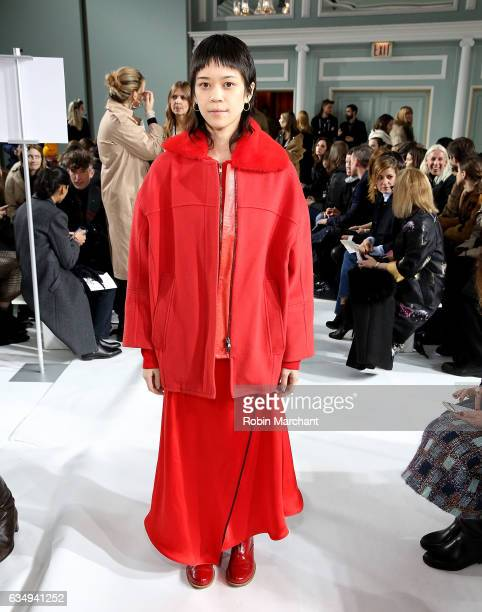 Patty Lu attends Sies Marjan during New York Fashion Week on February 12 2017 in New York City