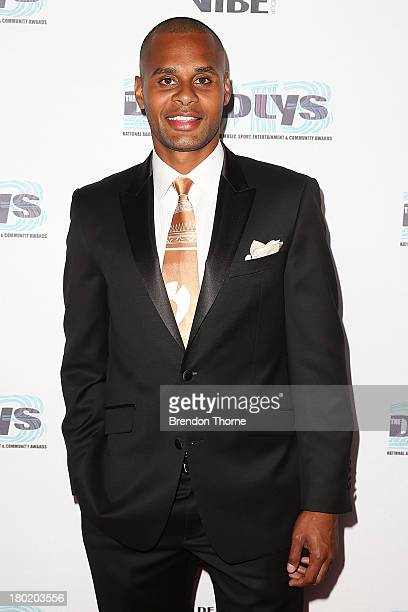 Patty Mills arrives at the 2013 Deadly Awards at the Sydney Opera House on September 10 2013 in Sydney Australia The Deadly Awards are the National...