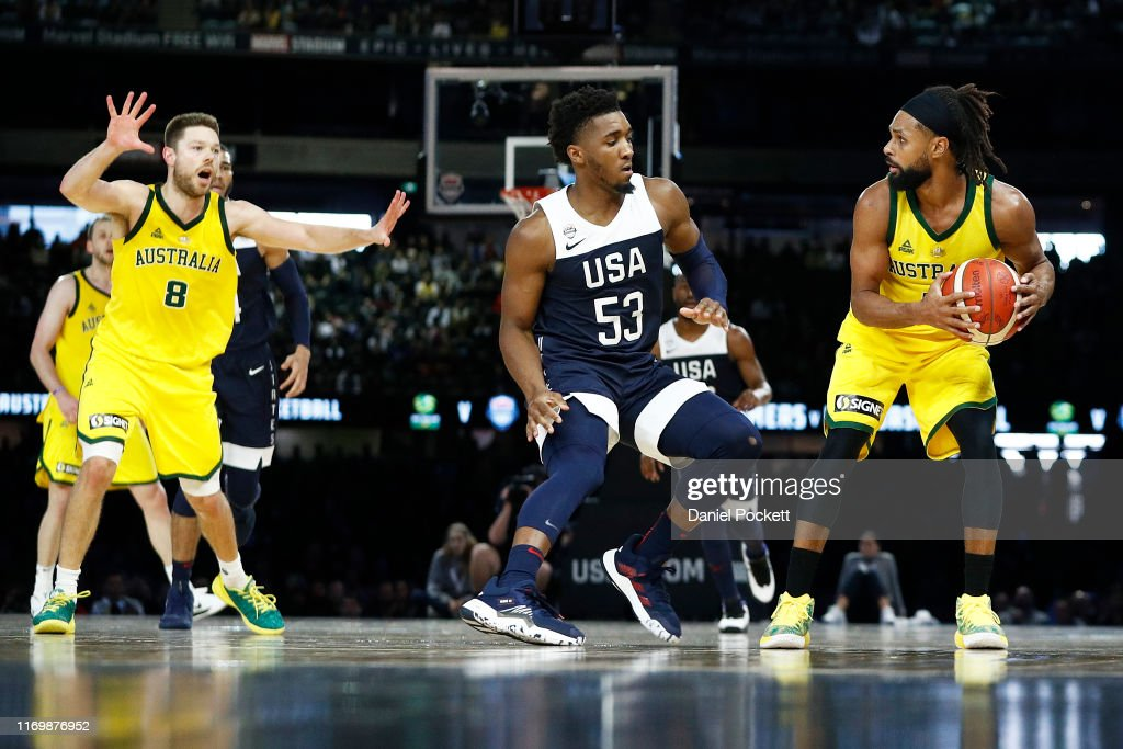 Australia v Team USA: Game 2 : News Photo