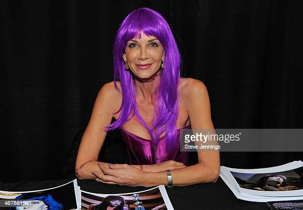 Patty Mullen attends Kirk Von Hammett's Fear FestEvil at Grand Regency Ballroom on February 7 2014 in San Francisco California