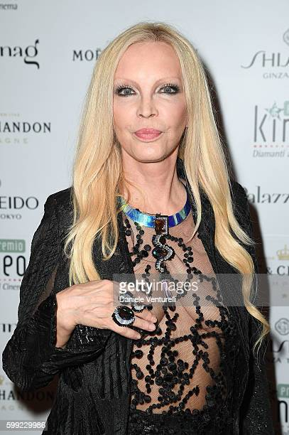 Patty Pravo attends the Kineo Diamanti Award party during the 73rd Venice Film Festival at on September 4 2016 in Venice Italy