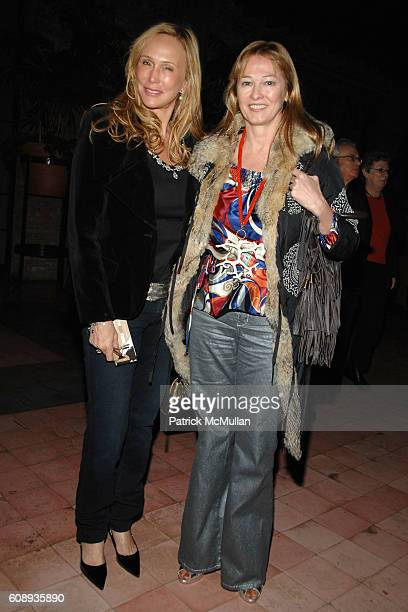 Patty Raynes and Kimberly DuRoss attend THE CINEMA SOCIETY and HOGAN host the after party for I'M NOT THERE at Bowery Hotel on November 13 2007 in...
