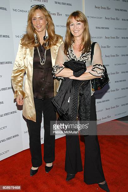 Patty Raynes and Kimberly DuRoss attend THE CINEMA SOCIETY and THE WALL STREET JOURNAL host a screening of Away from Her at IFC Center on May 2 2007...