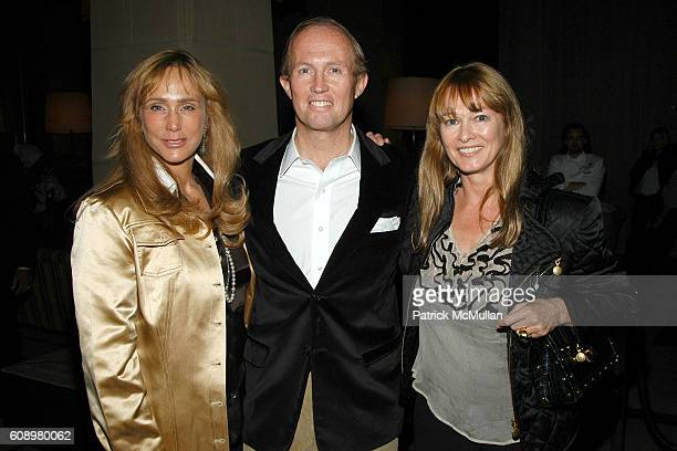 Patty Raynes Mark Gilbertson and Kimberly DuRoss attend THE CINEMA SOCIETY and THE WALL STREET JOURNAL after party for Away from Her at Soho Grand...