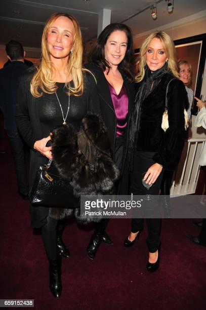 Patty Raynes Shannon Signorfini and Anna Rothschild attend The EAST SIDE HOUSE SETTLEMENT GALA preview of the 2009 New York International Auto Show...