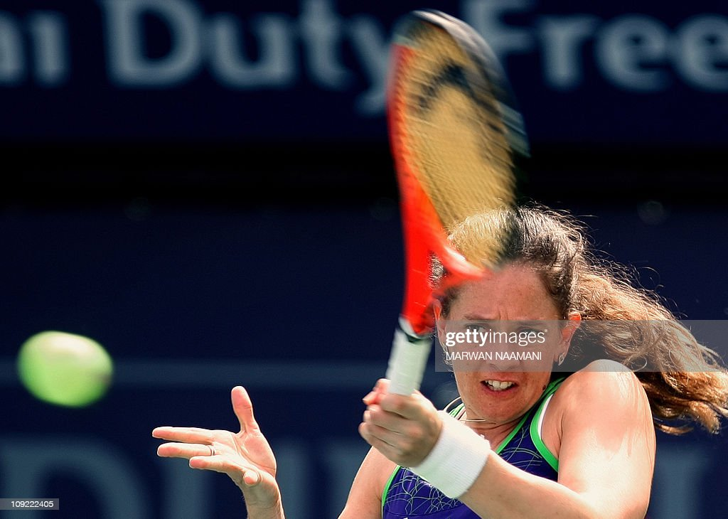 Patty Schnyder of Switzerland returns th : News Photo