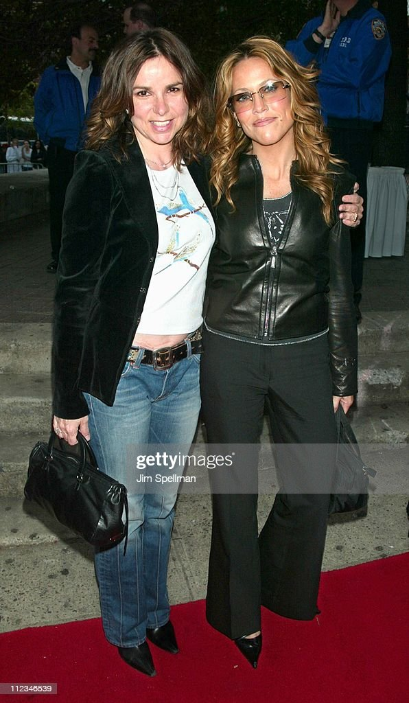 Patty Smyth and Sheryl Crow during 2002 Tribeca Film Festival - 'About A Boy' Premiere at Tribeca Performing Arts Center in New York City, New York, United States.