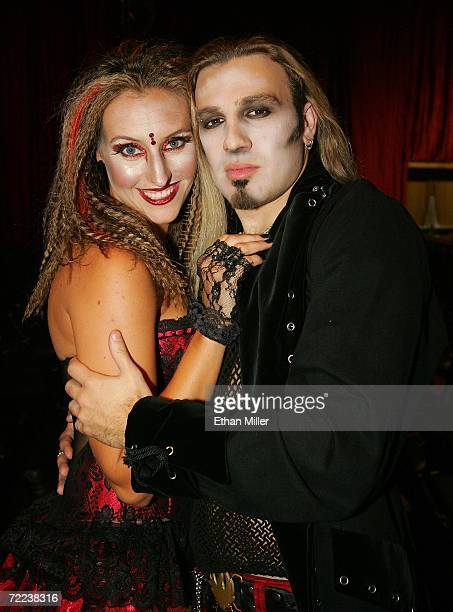 Patty Storey and her fiance Jesse Blaze Snider lead singer of rock band Baptized By Fire and son of Twisted Sister singer Dee Snider and his wife...