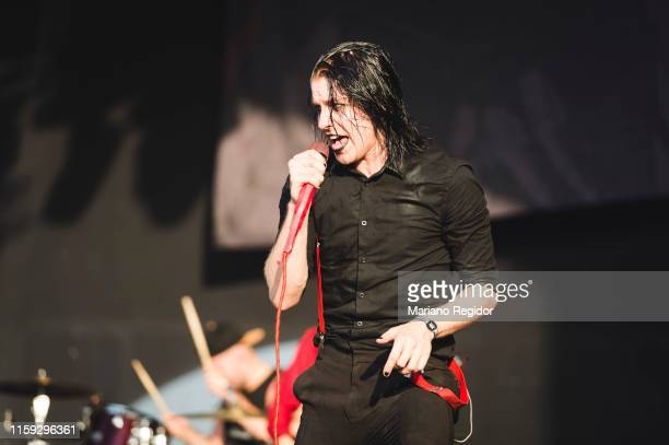 Patty Walters of As It Is performs on stage during day 3 of Download festival 2019 at La Caja Magica on June 30 2019 in Madrid Spain