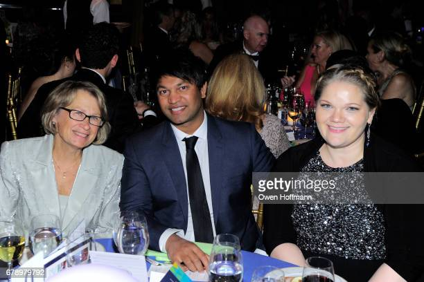 Patty Wetterling Saroo Brierley and Jessica Sarra attend International Centre for Missing Exploited Children 2017 Gala for Child Protection at Gotham...
