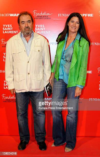 Patxi Andion attends the opening of 'Yves Saint Laurent' exhibition on October 4 2011 in Madrid Spain