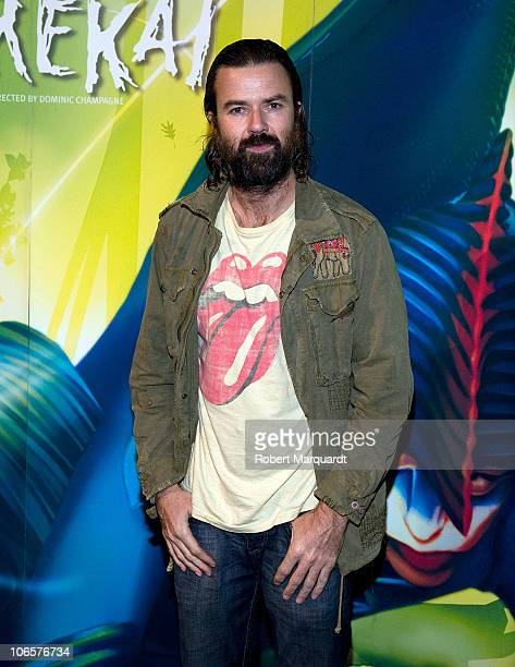 Pau Dones attends a photocall for the Cirque du Soleil 'Varekai' show on November 5 2010 in Barcelona Spain