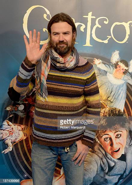 Pau Dones attends the 'Cirque du Soleil Corteo' premiere on January 20 2012 in Barcelona Spain