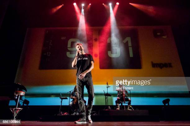 Pau Dones of Jarabe de Palo performs in concert at Gran Teatre del Liceu during Festival Milleni on May 20 2017 in Barcelona Spain