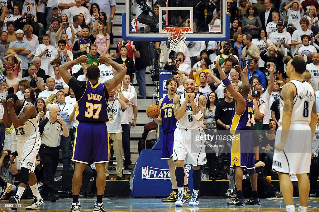Los Angeles Lakers v Utah Jazz, Game 3