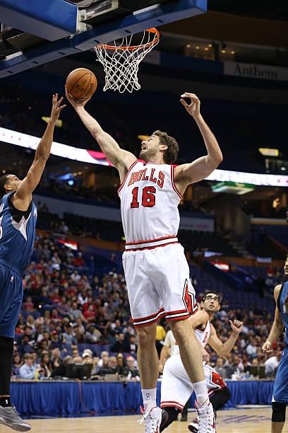 Minnesota Timberwolves v Chicago Bulls Photos and Images  a1e42eb20ec6