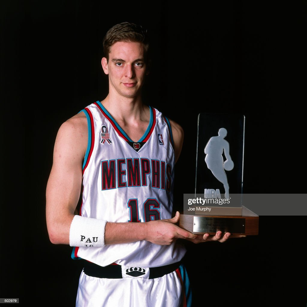 Pau Gasol Of The Memphis Grizzlies The 2001/2002 Got Milk