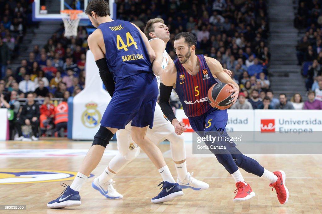 Real Madrid v FC Barcelona Lassa - Turkish Airlines EuroLeague   News Photo 39e845c8c