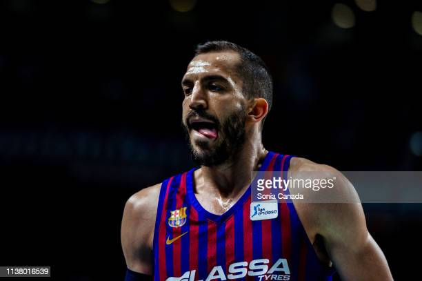 Pau Ribas during the Liga Endesa match between Real Madrid and FC Barcelona Lassa at Wizink Center on March 24 2019 in Madrid Spain