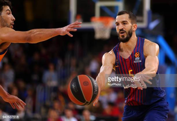 Pau Ribas during the match between FC Barcelona and BC Khimki Moscu corresponding to the week 30 of the Euroleague played at the Palau Blaugrana on...