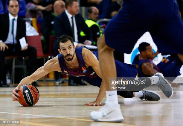 Pau Ribas during the match between FC Barcelona v Panathinaikos BC corresponding to the week 1 of the basketball Euroleaguein Barcelona on october 13...