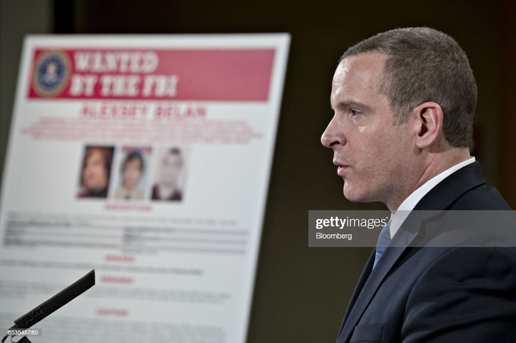 Paul Abbate, executive assistant director of the Federal Bureau of Investigation (FBI) criminal, cyber, response and services branch, speaks during a news conference at the Department of Justice in Washington, D.C., U.S., on Wednesday, March 15, 2017. The U.S. charged four people, including two Russian intelligence officers, over the theft of hundreds of millions of accounts of Yahoo Inc. users from a computer breach that threatened to derail its acquisition by Verizon Communications Inc. Photographer: Andrew Harrer/Bloomberg via Getty Images