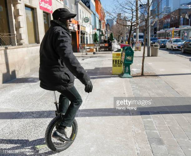 Paul Abraham has been spotted zipping around downtown Toronto on his unicycle often to the delight of passersby The Star catches up with 'the...