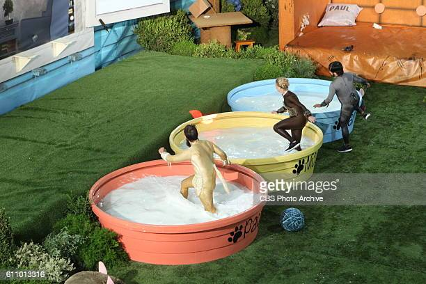 Paul Abrahamian Nicole Franzel and James Huling play the HOH Comp airing on September 21st BIG BROTHER airs Sundays and Wednesdays and Thursdays...