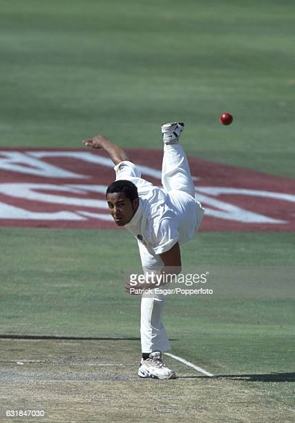 Paul Adams bowling for South Africa during the 1st Test match between South Africa and England at the New Wanderers Stadium Johannesburg South Africa...