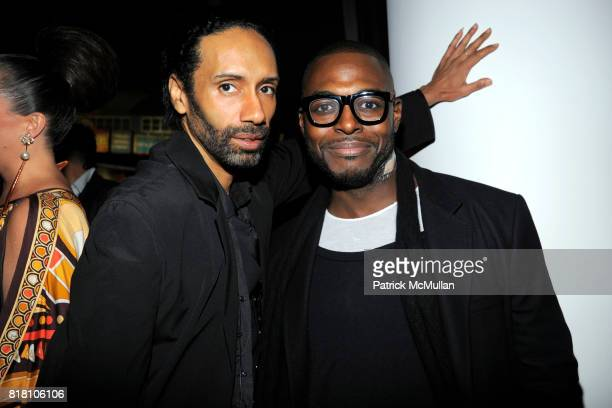 Paul Alexander and Nashom attend OUT 100 Presented by BUICK at IAC Building on November 18 2010 in New York City