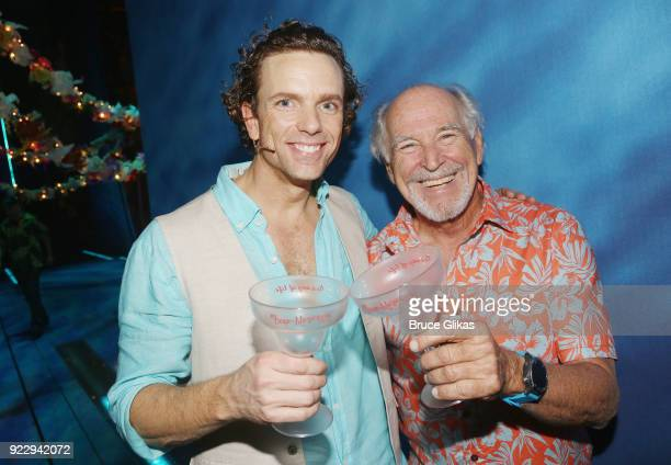 paul alexander nolan and jimmy buffett celebrate 2018 national margarita day february 22 backstage
