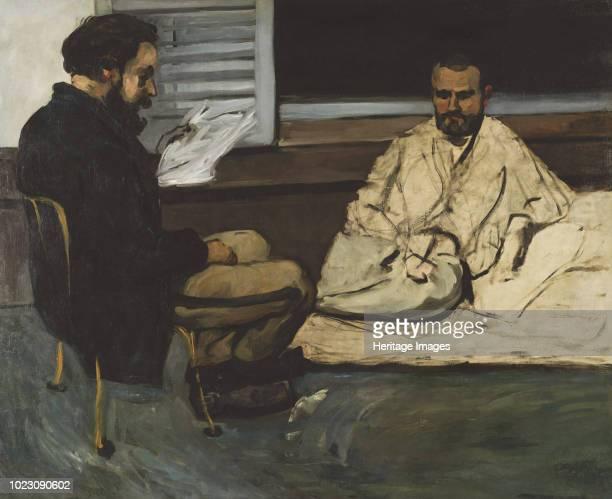 Paul Alexis reading to Émile Zola 18691870 Found in the Collection of Museu de Arte de São Paulo