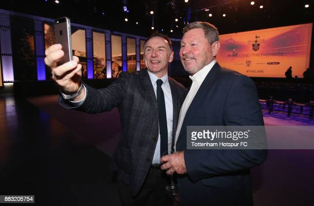 Paul Allen and Clive Allen during the premiere of 'The Lane' documentary film at BT Sport Studios on November 30 2017 in Stratford England
