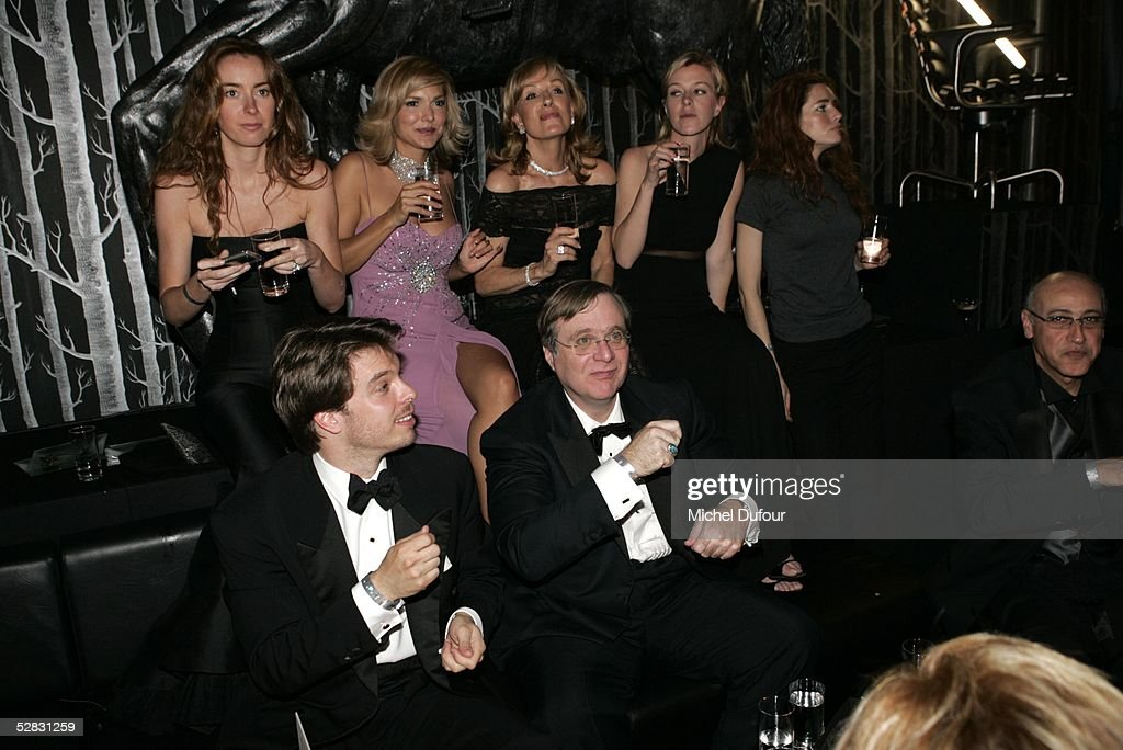 Paul Allen and guests attend the Ceremony of the Chopard Trophy Awards at the Carlton Hotel on May 11, 2005 in Cannes, France. The Chopard Trophy is a promotional award that is given to young actors.
