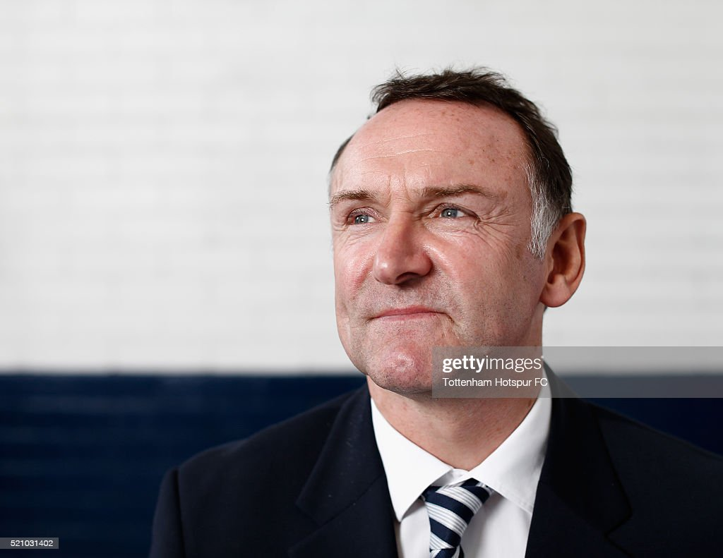 Paul Allen poses at White Hart Lane on August 29, 2015 in London, England.