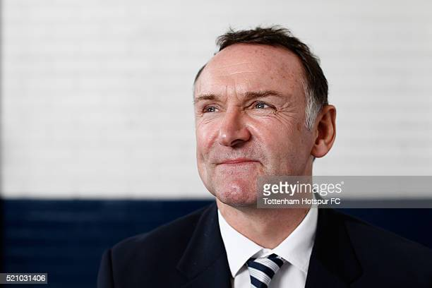 Paul Allen poses at White Hart Lane on August 29 2015 in London England