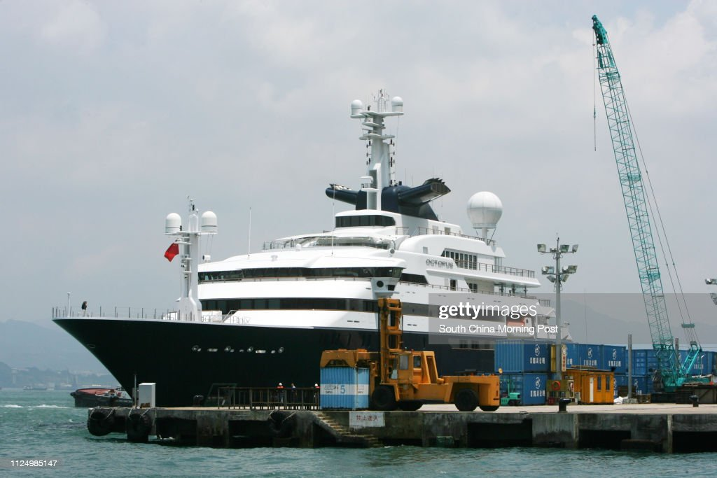 Paul Allen S 127m Octopus The World S Largest Yachts Has Moored