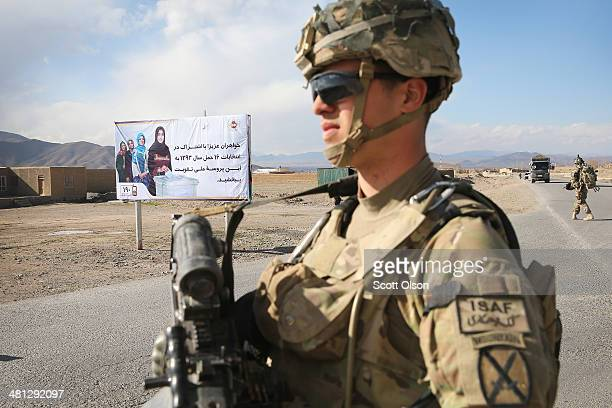 Paul Alonso from Livingston New Jersey with the US Army's 2nd Battalion 87th Infantry Regiment 3rd Brigade Combat Team 10th Mountain Division stands...