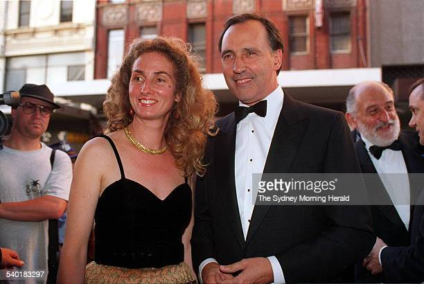 Paul and Annita Keating attend the reopening of the Capitol Theatre 24 January 1995 SMH NEWS Picture by BRENDAN ESPOSITO