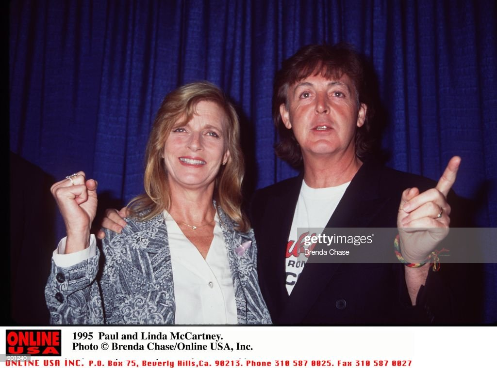 Paul And Linda McCartney Eastman Died Of Cancer Friday 4 17 98